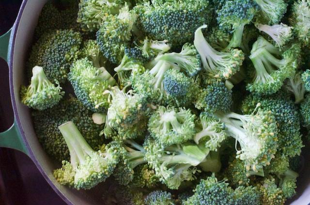 added asparagus and broccoli