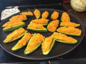 Bacon & Sweet Potato Jalapeño Boats