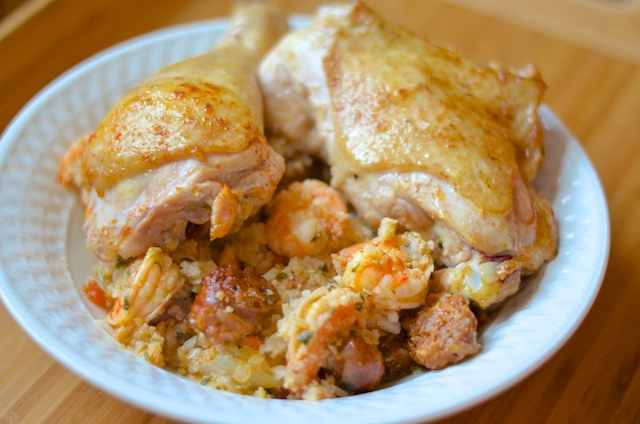 Chicken & Shrimp Paella
