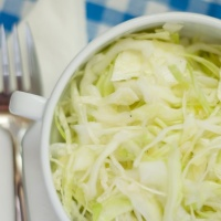 Alex Boake's Super Garlic Cabbage Salad