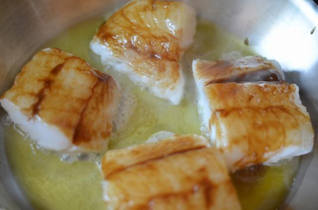 glazed cod