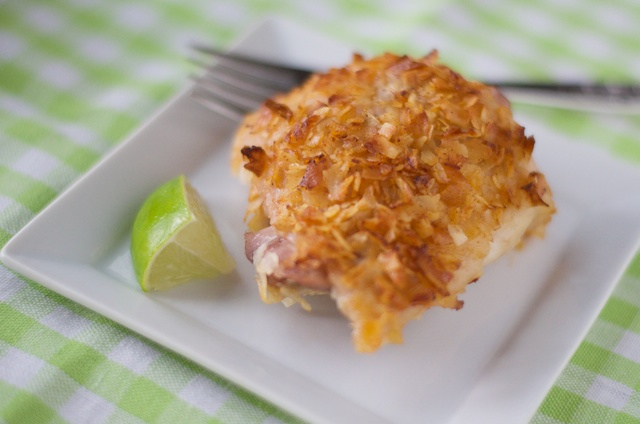 Coconut-Lime Chicken Thigh