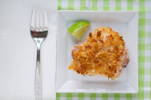 chicken lime coconut thigh