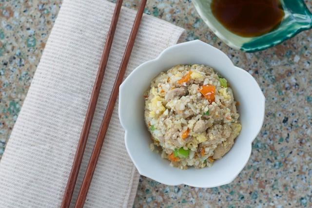 fried rice setting