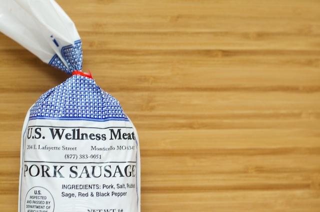 US Wellness Meats Pork Breakfast Sausage