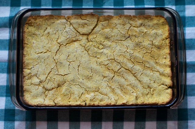 baked not cornbread