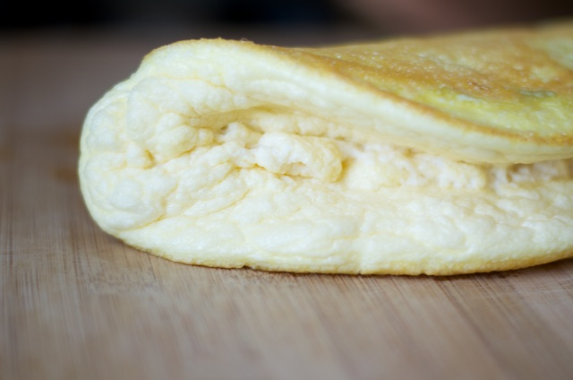 fancy paleo omelette
