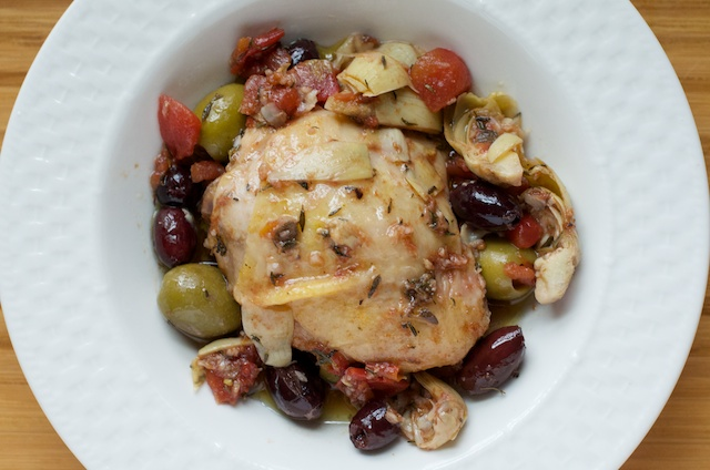 delicious finished greek chicken