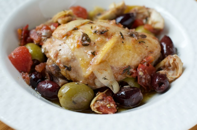 greek chicken thighs
