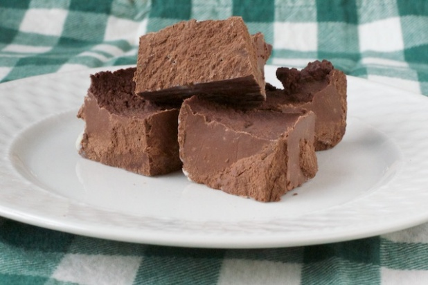 gluten free paleo chocolate fudge recipe