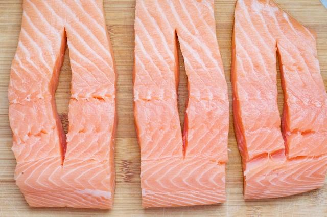 Crab Stuffed Salmon Recipe