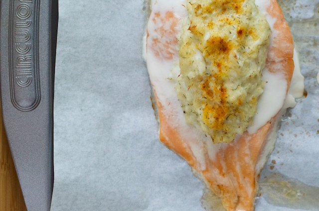 Crab Stuffed Salmon Recipe