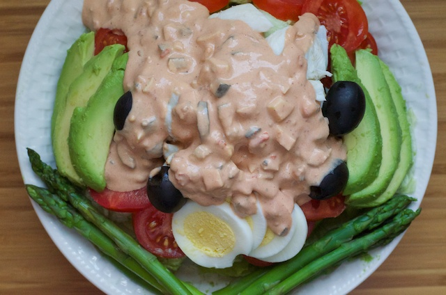 Crab Louie Salad Recipe