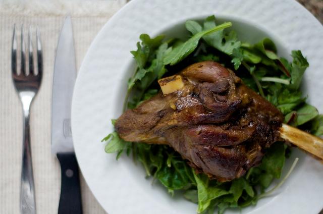Cocoa Curry Lamb Shank Recipe