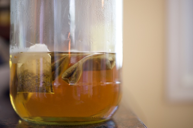 Strawberry-Mango Mint Tea Recipe