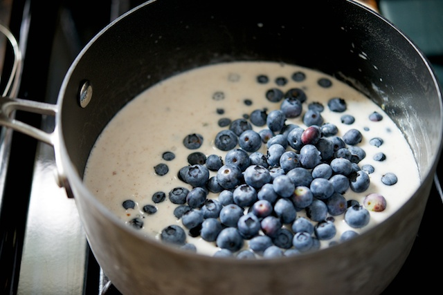 Chilled Blueberry-Rosemary Soup Recipe