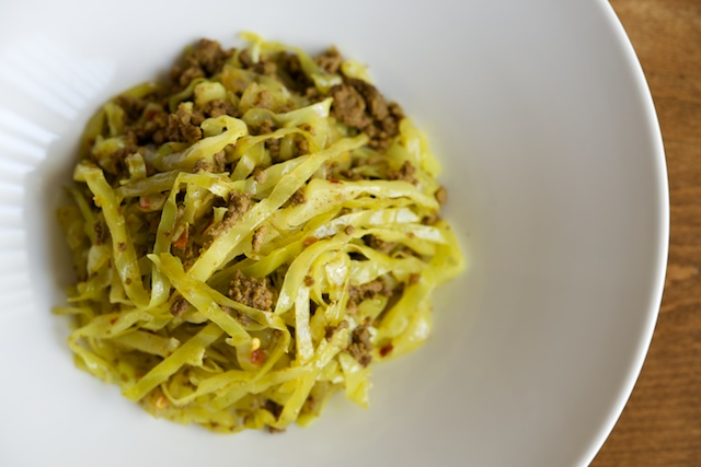 Beef and Cabbage Curry Recipe (paleo)