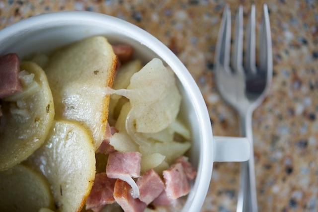 Scalloped Potatoes and Ham Recipe (Whole30)