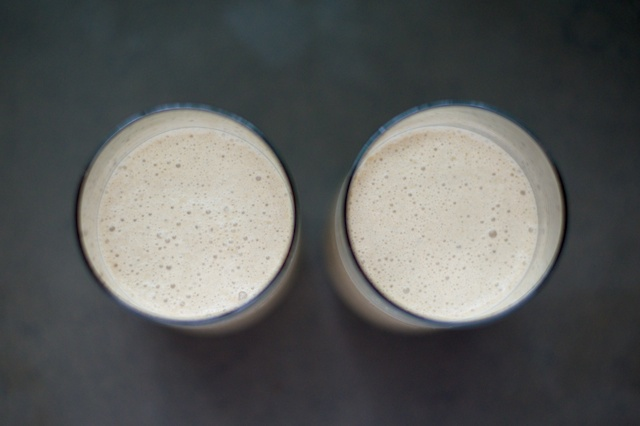 Coffee-Banana Breakfast Smoothie