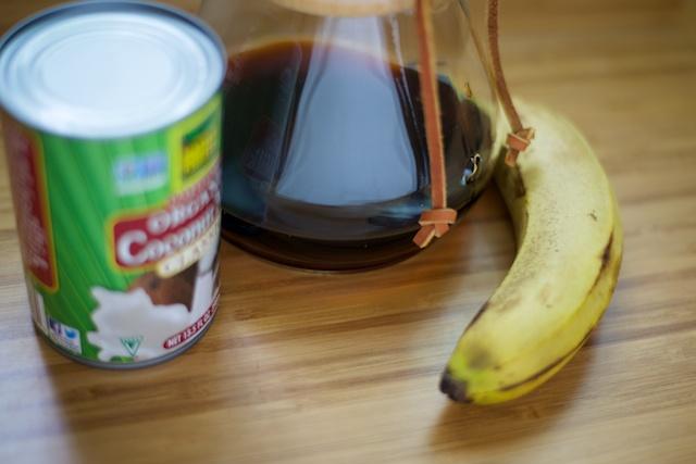 Coffee-Banana Breakfast Smoothie