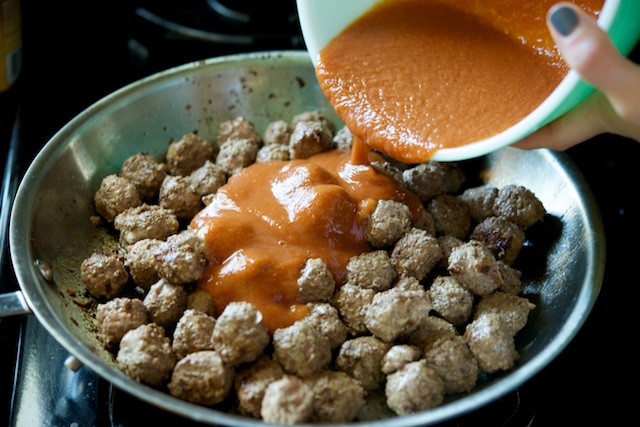 Sweet and Sour Meatballs Recipe (paleo, primal, gluten-free)