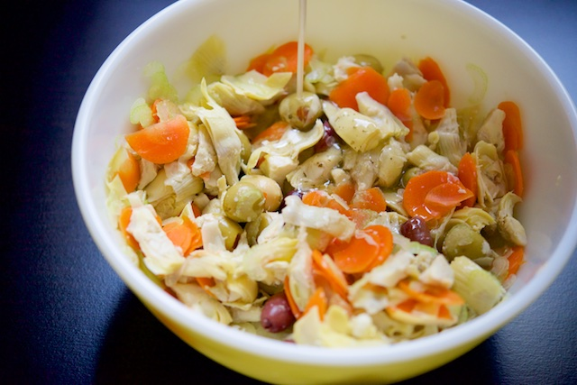 Artichoke Heart Salad Recipe (paleo, primal, gluten-free)