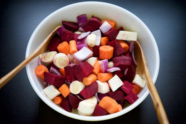 Roasted Root Vegetables Recipe (paleo, primal, gluten-free)