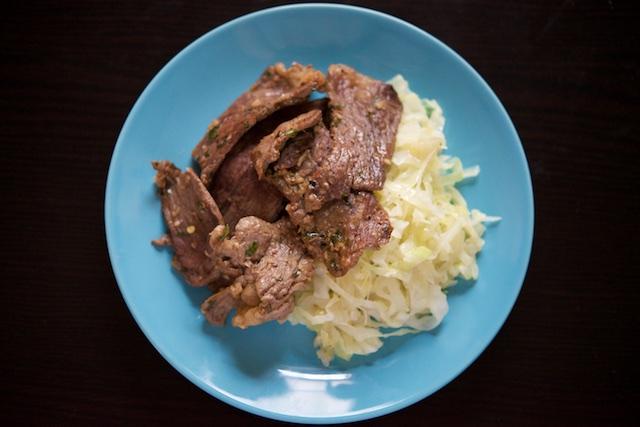 Thai Sliced Beef (paleo, primal, gluten-free)