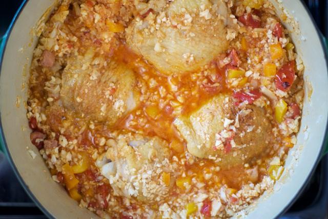 Arroz Con Pollo (Chicken With Rice) Recipe [paleo, primal, gluten-free]
