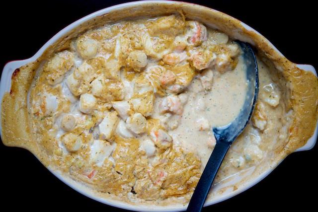 Seafood Newburg Recipe (paleo, primal, gluten-free)