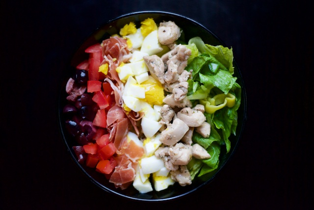 Greek Cobb Salad Recipe (paleo, primal, gluten-free)