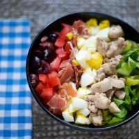 Greek Cobb Salad