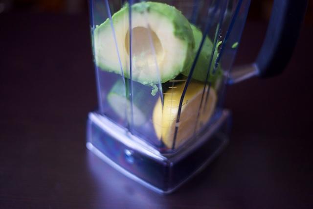 Easy Morning Green Smoothie Recipe [paleo, primal, gluten-free]