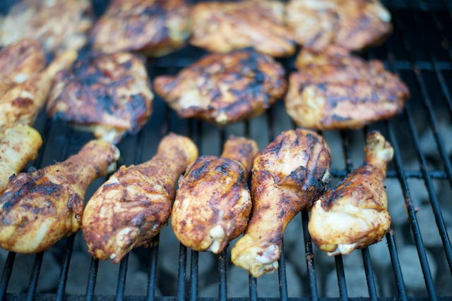 Simple Grilled Barbecue Chicken Recipe [paleo, primal, gluten-free]