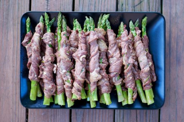 Lamb-Wrapped Asparagus Recipe [paleo, primal, gluten-free]