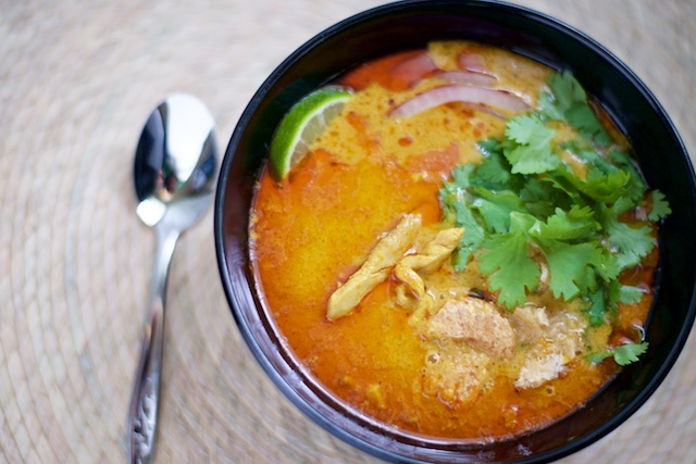 Chicken khao soi that paleo couple khao soi is a delicious chicken soup with history in laos and northern thailand as you may have noticed recently weve been in love with thai food as an forumfinder Choice Image