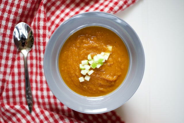 Easy Chipotle Pumpkin Soup | virginia is for hunter-gatherers