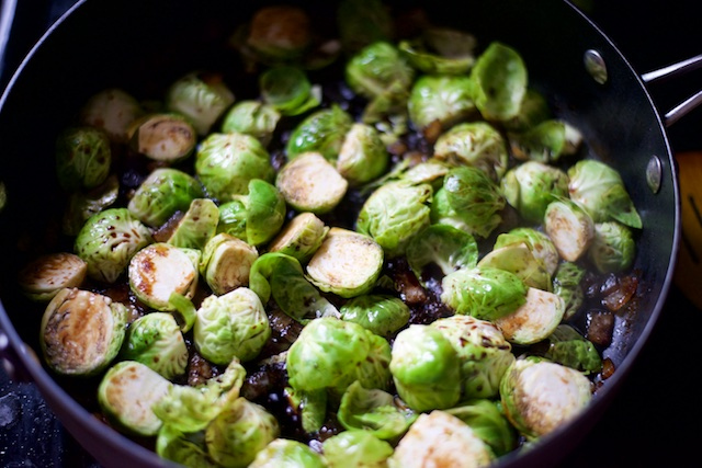 Cranberry Brussels Sprouts Recipe [paleo, primal, gluten-free]