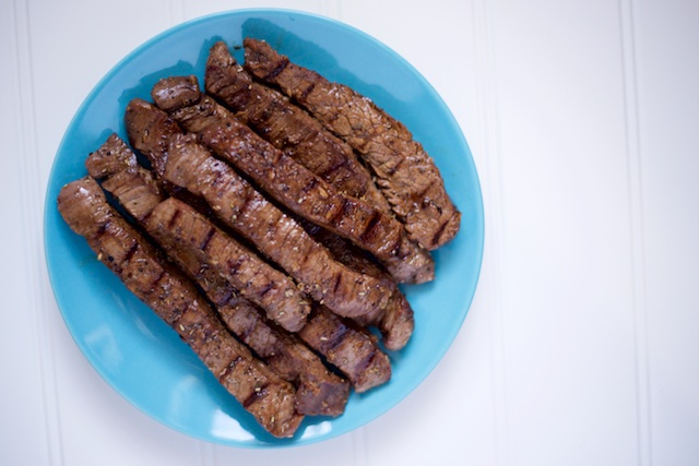 Balsamic Flank Steak Recipe [paleo, primal, gluten-free]