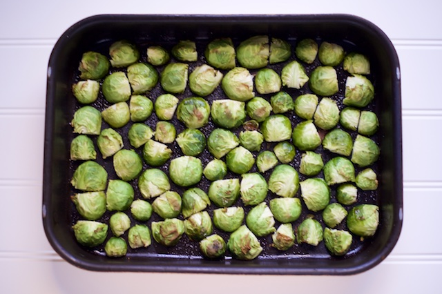 Oven Roasted Brussels Sprouts Recipe [paleo, primal, gluten-free]