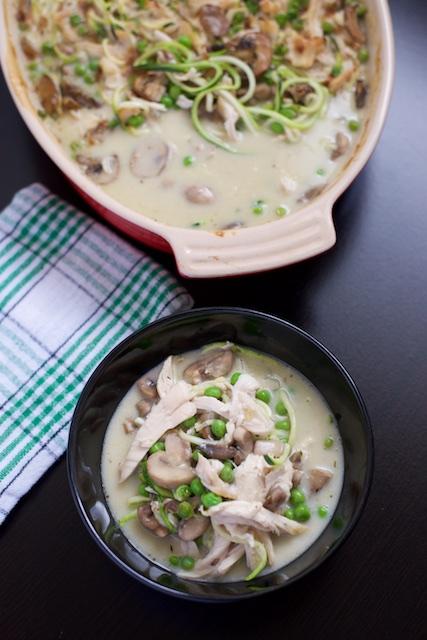 Chicken Tetrazzini Recipe [paleo, primal, gluten-free]