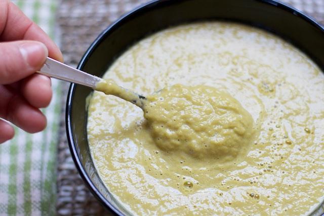 Split Asparagus Soup