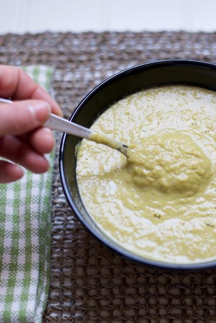 Split Asparagus Soup Recipe [paleo, primal, gluten-free]