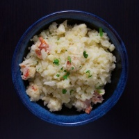 Lobster Cauliflower Risotto