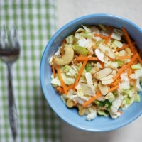 Copycat Costco Asian Cashew Chopped Salad