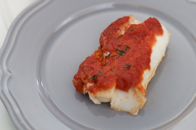 Marinara Haddock Recipe [paleo, primal, gluten-free]