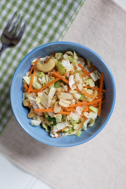 Copycat Costco Asian Cashew Chopped Salad Recipe [paleo, primal, gluten-free]