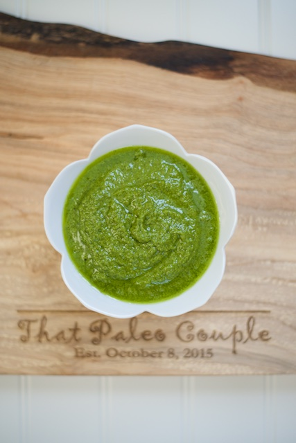 ABC² Pesto Recipe [paleo, primal, vegan, gluten-free]
