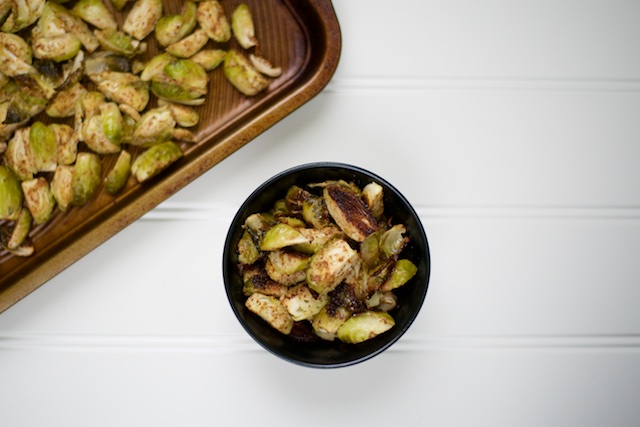 Roasted Mustard Brussels Sprouts Recipe [paleo, primal, gluten-free]