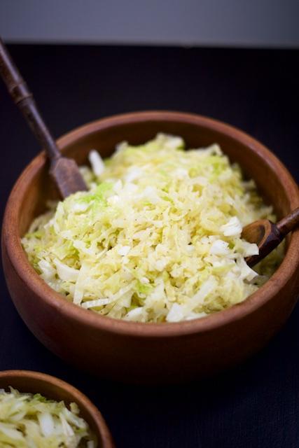 Celery Seed Cabbage Slaw Recipe [paleo, primal, gluten-free, vegan]